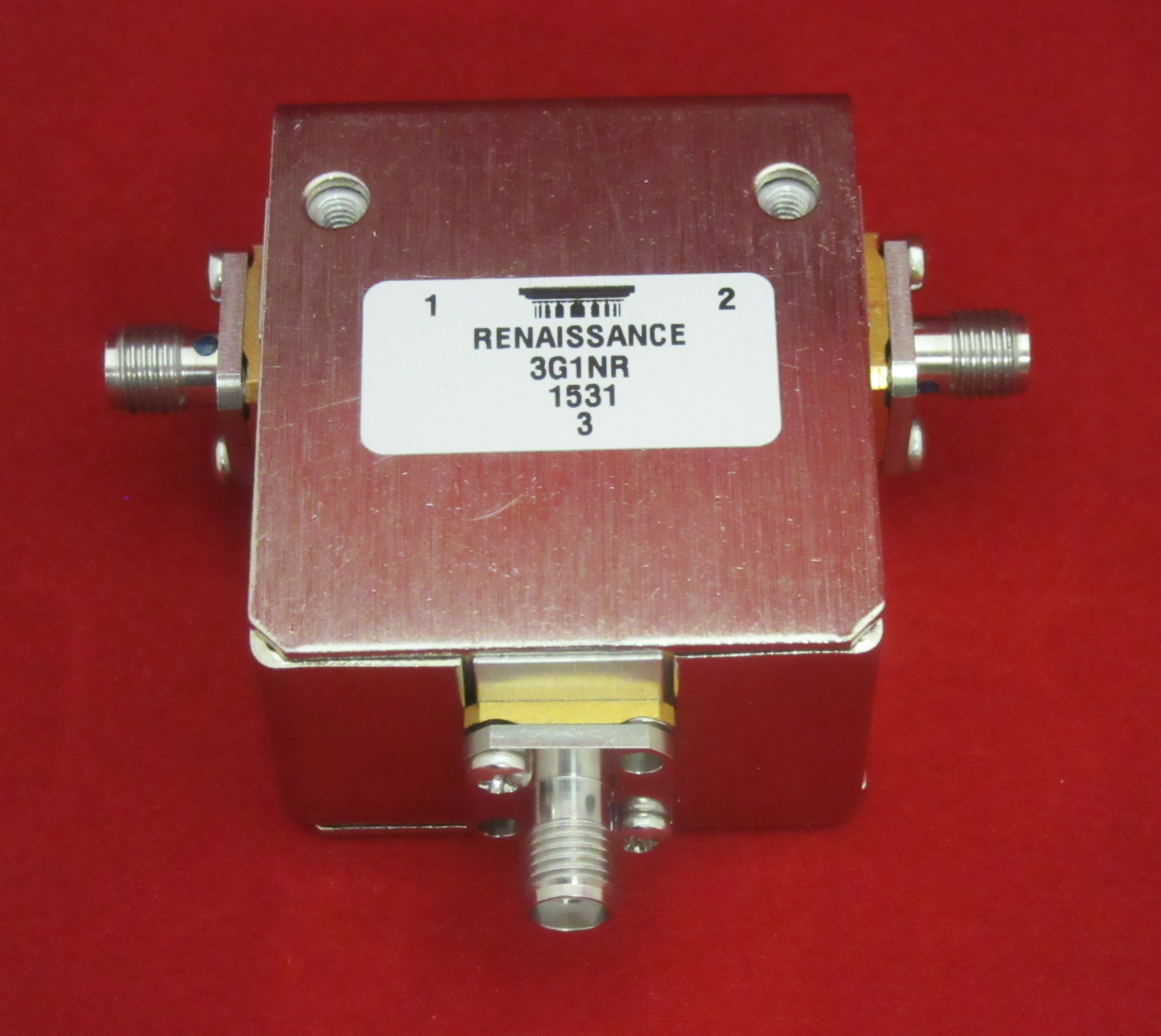 440 – 470 MHz High Power Drop In Circulator, VHF, 3G1NR