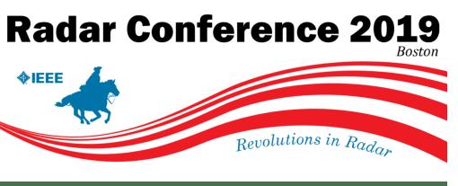 Radar Conference 2019 Logo